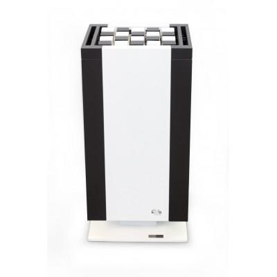 Електрична піч для сауни Mythos S 45 Black & White (12-15 кВт) (підлогове виконання)
