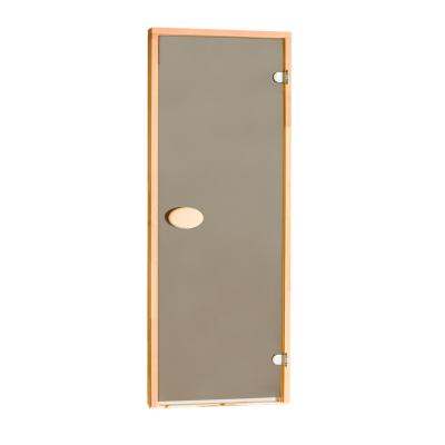 Двері для сауни стандартні, тонуючі, Bronze