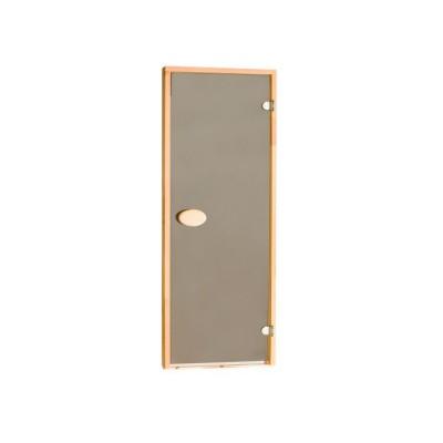 Двері для сауни стандартні, тонуючі, колір шиншила