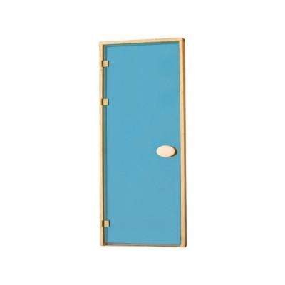 Двері для сауни стандартні  тонуючі, Blue
