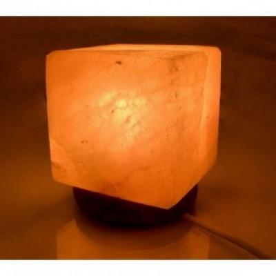 Гімалайська рожева сіль. Світильник Куб