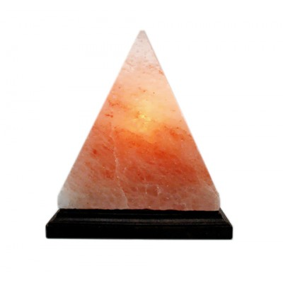 Гімалайська рожева сіль. Світильник Піраміда