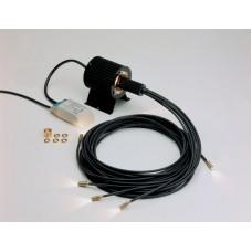 Комплект оптоволоконного освітлення для сауни з проектором VP33 (IP20) Зоряне небо