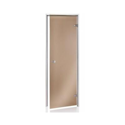 Двері тоновані ANDRES, колір bronze