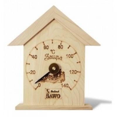 115-Т Термометр-домік SAWO (сосна). Купити в інтернет-магазині
