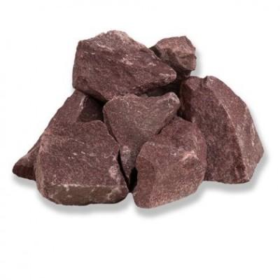 Каміння для сауни Малиновий кварцит, колотий