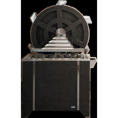Електрична піч для сауни Млин + Піч Goliath (18-36 кВт) (підлогове виконання)